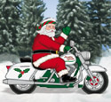 Easy Rider Santa Woodcrafting Pattern