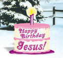 Happy Birthday Jesus Woodcraft Pattern