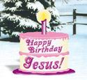 Happy Birthday Jesus Woodcraft Pattern