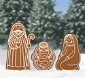 Gingerbread Nativity Woodcraft Pattern