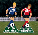 Go Team Soccer Sign Woodcrafting Pattern