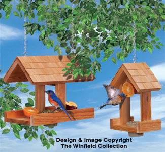 Songbird Feeders Wood Project Plan
