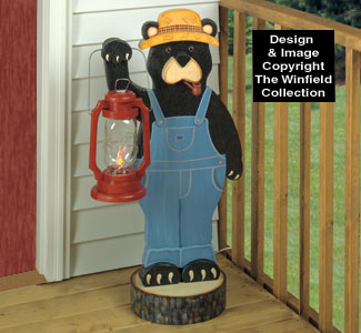 Black Bear Lantern Woodworking Plan