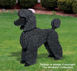 3d Animal Project Patterns 3d Life Size Standard Poodle