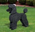 3D Life-Size Standard Poodle Wood Pattern