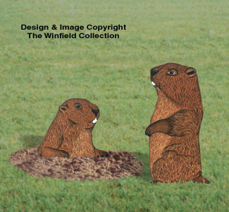 Groundhog Pair Woodcraft Project Plan