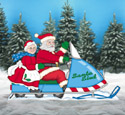 Snowmobiling Clauses Woodcraft Pattern