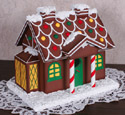 Gingerbread Birdhouse Wood Pattern