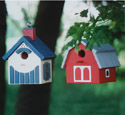 Summer Country Birdhouses Patterns
