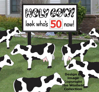 Holy Cow Birthday Woodcraft Pattern
