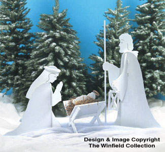 Blessed Nativity Woodcraft Pattern