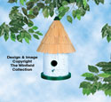 Round Birdhouse Woodcraft Plan