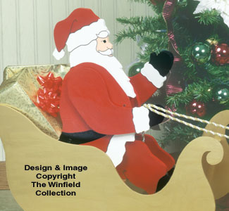 Small & Medium Seated Santa Pattern