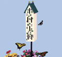Butterfly House Woodcraft Pattern