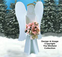 Poinsettia Angel Woodcraft Pattern