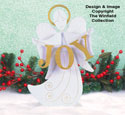 Small Angel Of Joy Woodcraft Pattern
