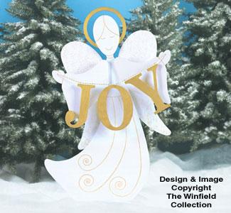Angel of Joy Woodcraft Pattern