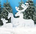 Resting Reindeer Family Patterns