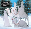 Nativity Camels Woodcraft Pattern