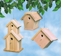 Cedar Birdhouses Wood Project Plan