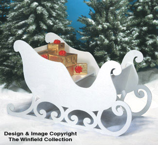 Santa's Sleigh Woodworking Plan