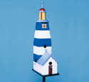 Lighthouse Birdhouse Birdfeeder Wood Plan