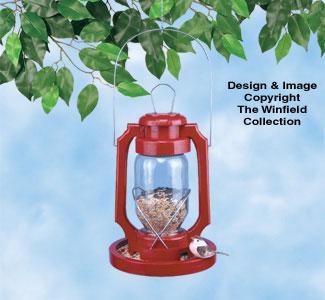 Lantern Birdfeeder Wood Plan