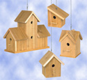 Cedar Birdhouses #3 Wood Project Plan