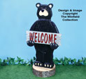 Welcome Bear Woodcraft Pattern