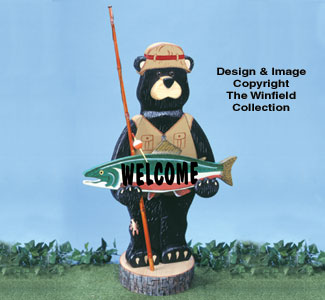 Gone Fishin' Woodcraft Pattern