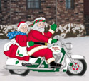 Easy Rider Clauses Woodcraft Pattern