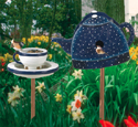 Tea Set Birdhouse/Feeder Wood Plan