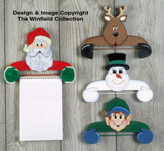 Christmas List Holders Pattern