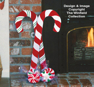 Holiday Candies Woodcraft Pattern