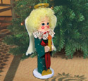 Christmas Angel Pole People Pattern