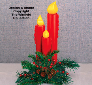 Candle Centerpiece Woodcraft Pattern