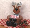 Reindeer Bowl Woodcraft Pattern