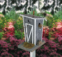 Rustic Bird Outhouse Wood Plan