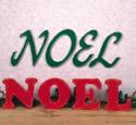 Indoor Noel Woodcraft Pattern