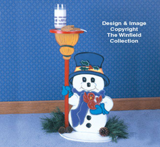 Snowman Table Woodcraft Pattern
