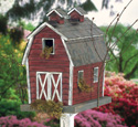 Rustic Barn Birdhouse Wood Plan