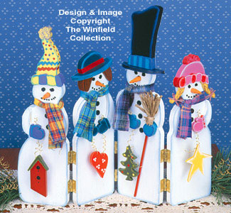 Snowman Screen Woodcraft Pattern