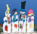 Snowman Screen Woodcraft Pattern