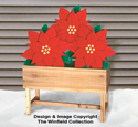 Large Poinsettia Woodcraft Pattern