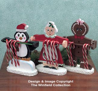 Candy Cane Holder Patterns  #3