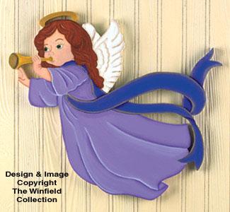 Trumpeting Angels Woodcraft Pattern