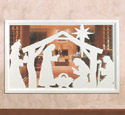 Wall Nativity Woodcraft Pattern