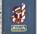 Beary Christmas Sign Woodcraft Pattern