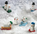 Miniature Snowmen Woodcraft Pattern