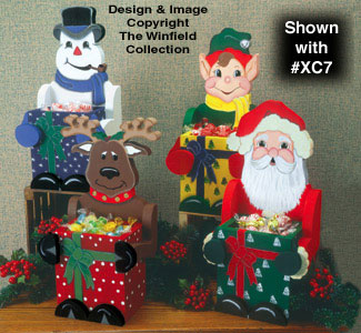 Christmas Candy Boxes Pattern #2